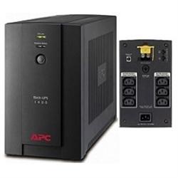 APC Back-UPS 1400VA, 230V, AVR, IEC Sockets - 1380283