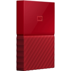 Western Digital MY PASSPORT 4TB Red USB 3.0 - 8400144