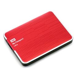 Western Digital  MY PASSPORT 2TB Red USB 3.0 - 8400126
