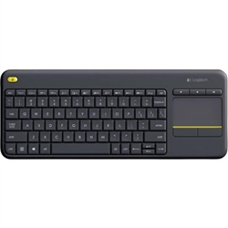 LOGITECH KEYBOARD WIRELESS TOUCH K400 PLUS BLACK 920-007139 - 1130264