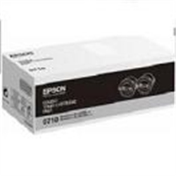 Epson Doble pack toner negro AL-M200 - 1361985