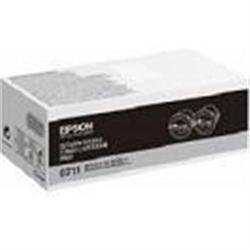 Epson Doble pack toner negro Retornable AL-M200 - 1361979